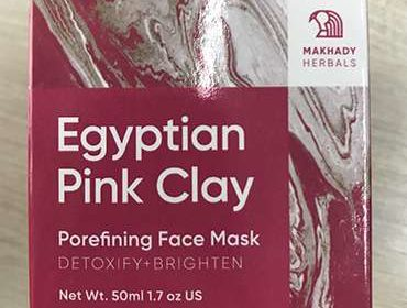 Упаковка Egyptian Pink Clay.